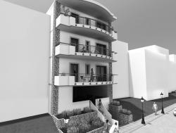 Τριώροφη Οικοδομή - Εύοσμος