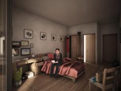 Πρόταση μονόκλινου δωματίου