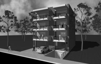 Τριώροφη Οικοδομή - Σίνδος