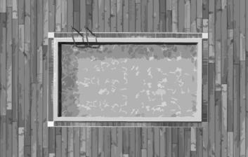 πισίνα ασπρόμαυρη